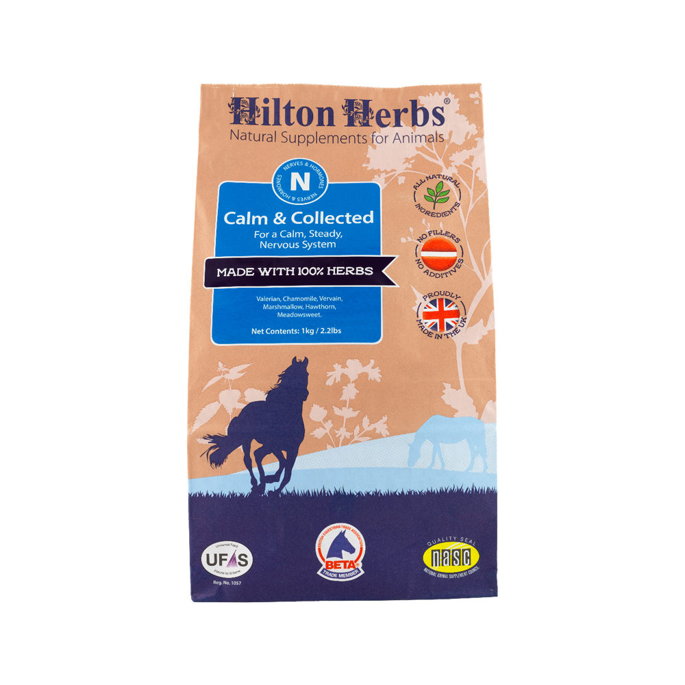 Hilton Herbs Calm & Collected for Horses - Poudre