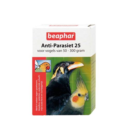 Beaphar - Anti parasite 25 pour oiseau