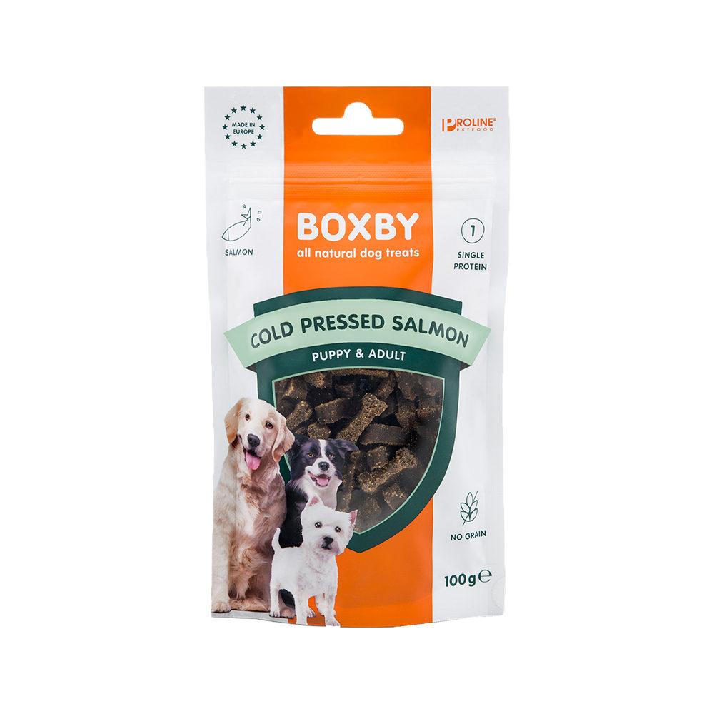 Boxby Grain Free Treats - Saumon
