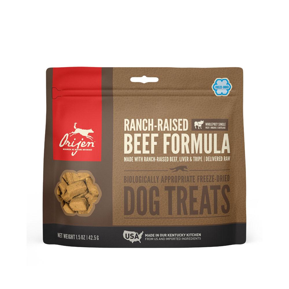 Orijen Dog Treat Freeze Dried - Ranch-Raised Beef