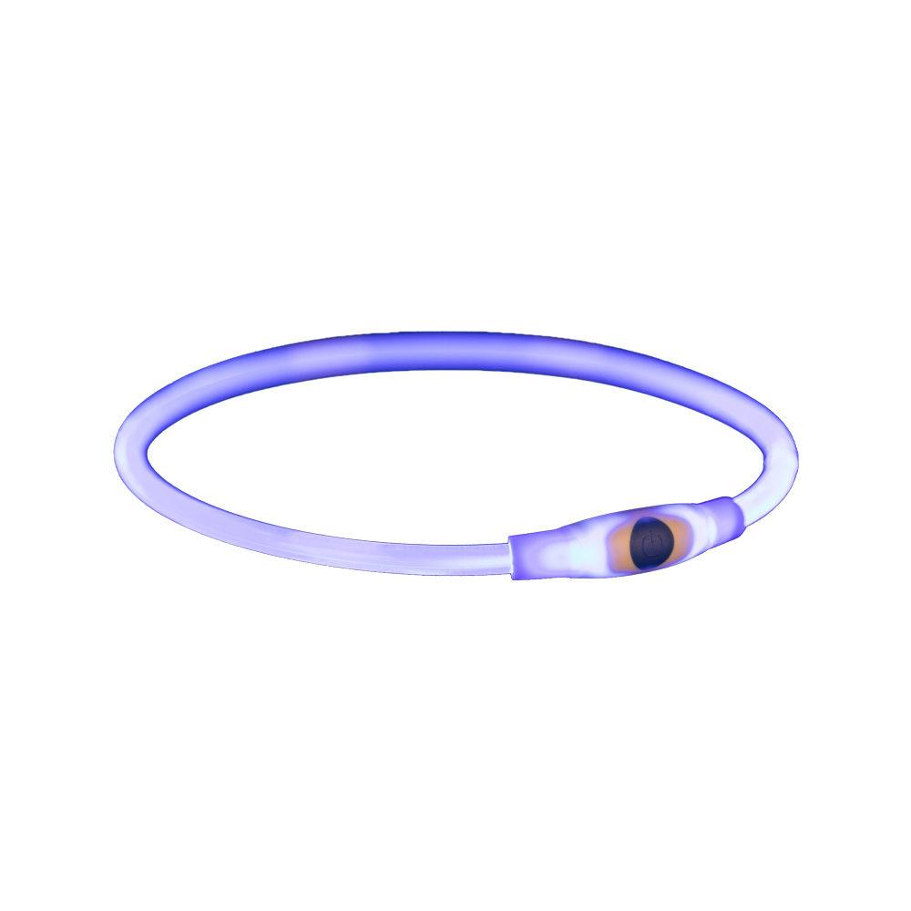 Trixie - Anneau lumineux USB flash - Bleu
