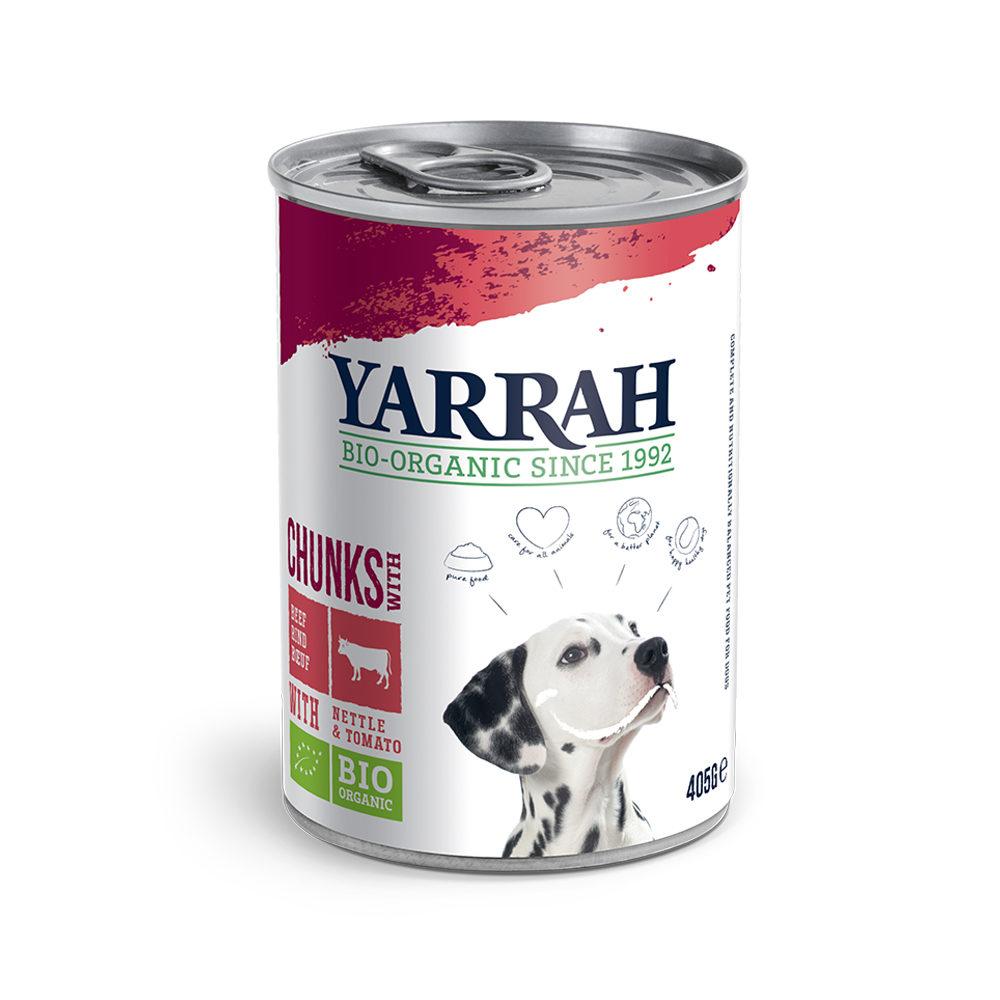 Yarrah Bio Chunks in Sauce - Boîte - Bœuf