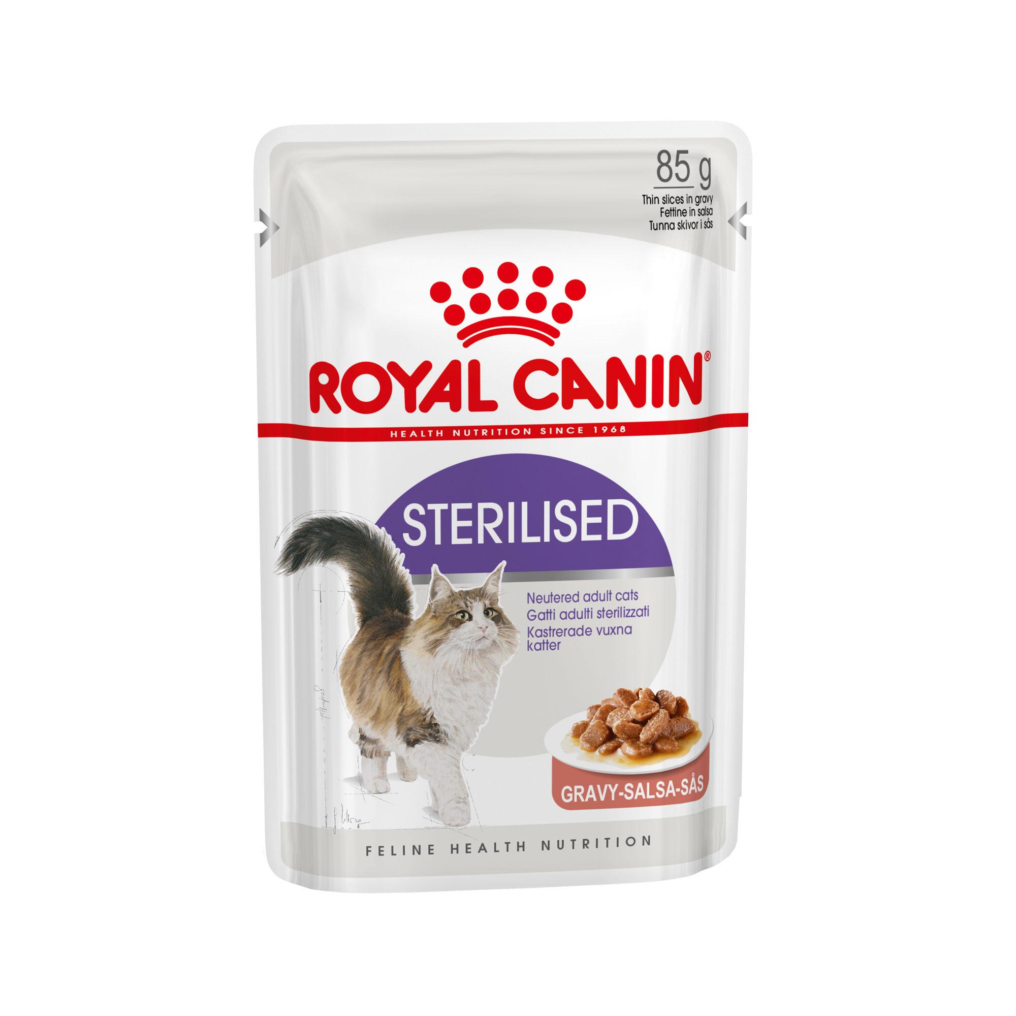 Royal Canin Sterilised in Gravy - Sachet