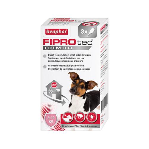 Beaphar Fiprotec Combo Spot-On Hund - 2-10 kg