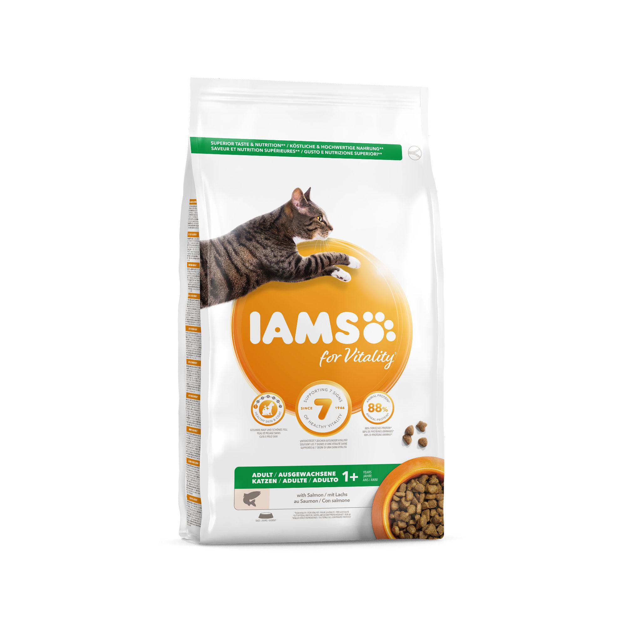 IAMS Adult Katzenfutter - Salmon & Chicken