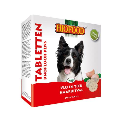 Biofood Knoblauchtabletten - Pansen - 55 Stück
