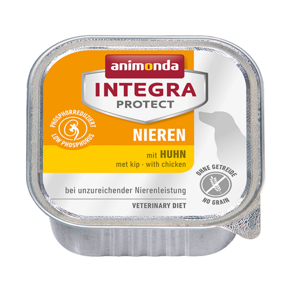 Animonda Integra Protect Dog Nieren Hundefutter - Schälchen - Huhn