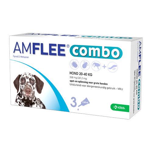 Amflee Combo Spot-on Hund 268 mg - 20 - 40 kg - 3 x 268 mg