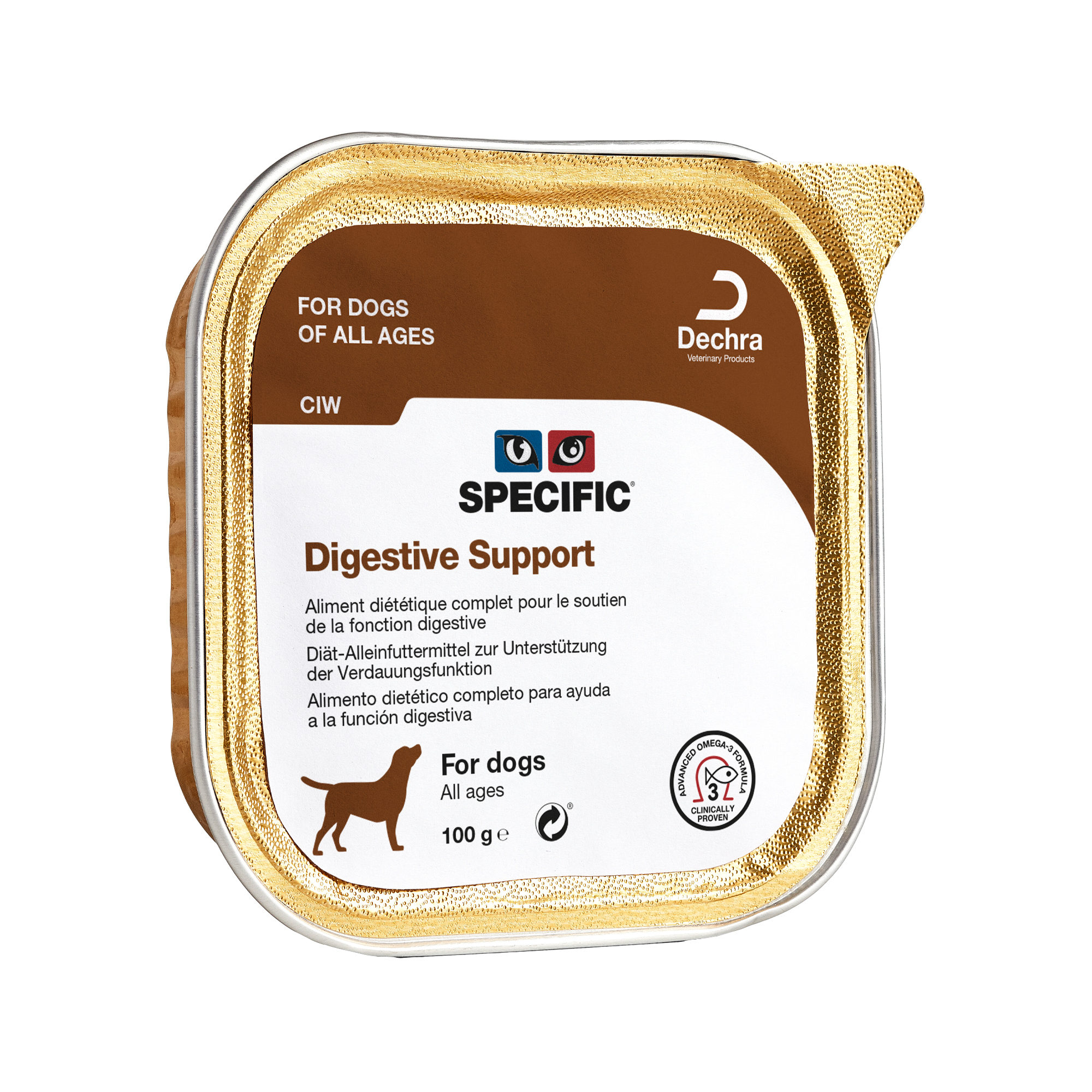 SPECIFIC Digestive Support CIW - Barquette