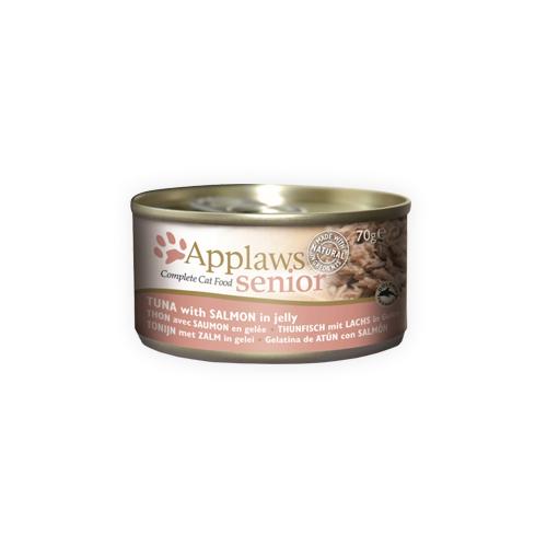 Applaws Senior Katzenfutter - Dosen - Tuna & Salmon - 24 x 70 g