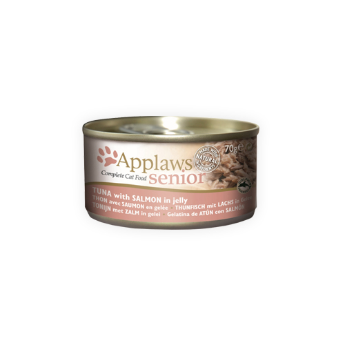 Applaws Senior Katzenfutter - Dosen - Tuna & Salmon