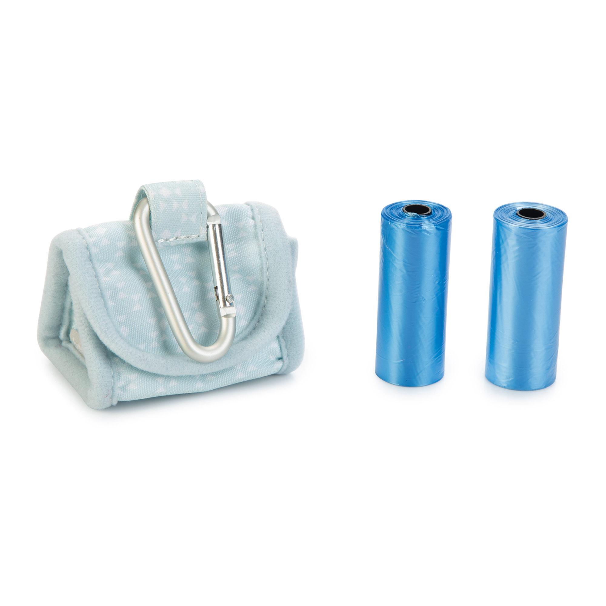 Beeztees Puppy - Distributeur de sacs à déjections - Bleu