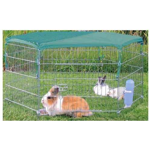 Trixie - Filer de protection solaire pour enclos d'extérieur
