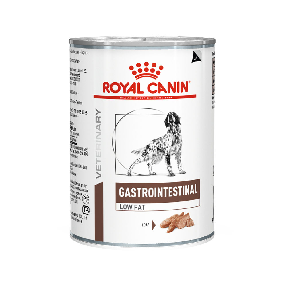 Royal Canin Gastro Intestinal Low Fat Hundefutter - Dosen