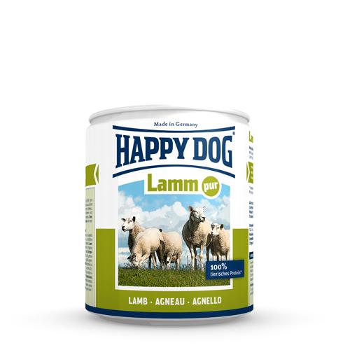 Happy Dog Pur - Boîte - Agneau