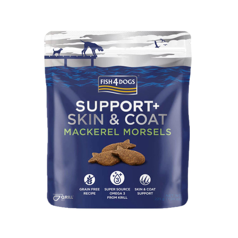 Fish4Dogs Support+ Skin & Coat - Makrele
