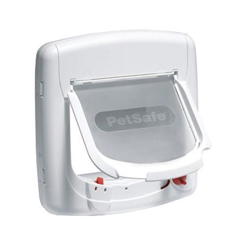 Petsafe Staywell Deluxe magnetische Katzenklappe - Weiß