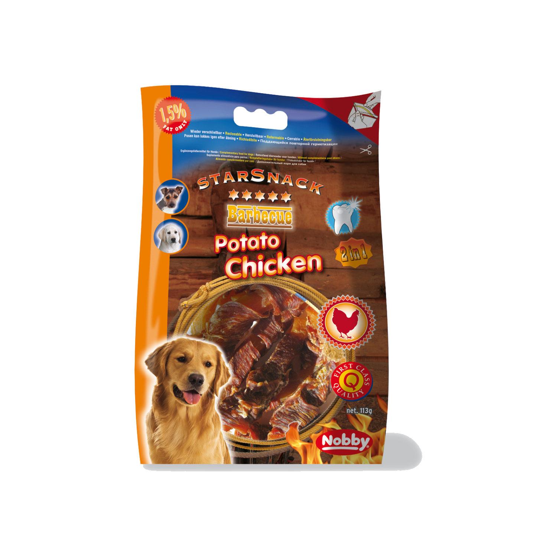 Nobby Starsnack BBQ - Potato Chicken