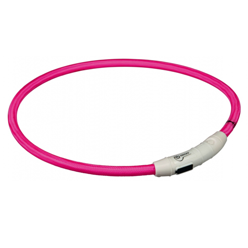 Trixie USB Leuchtring - Rosa