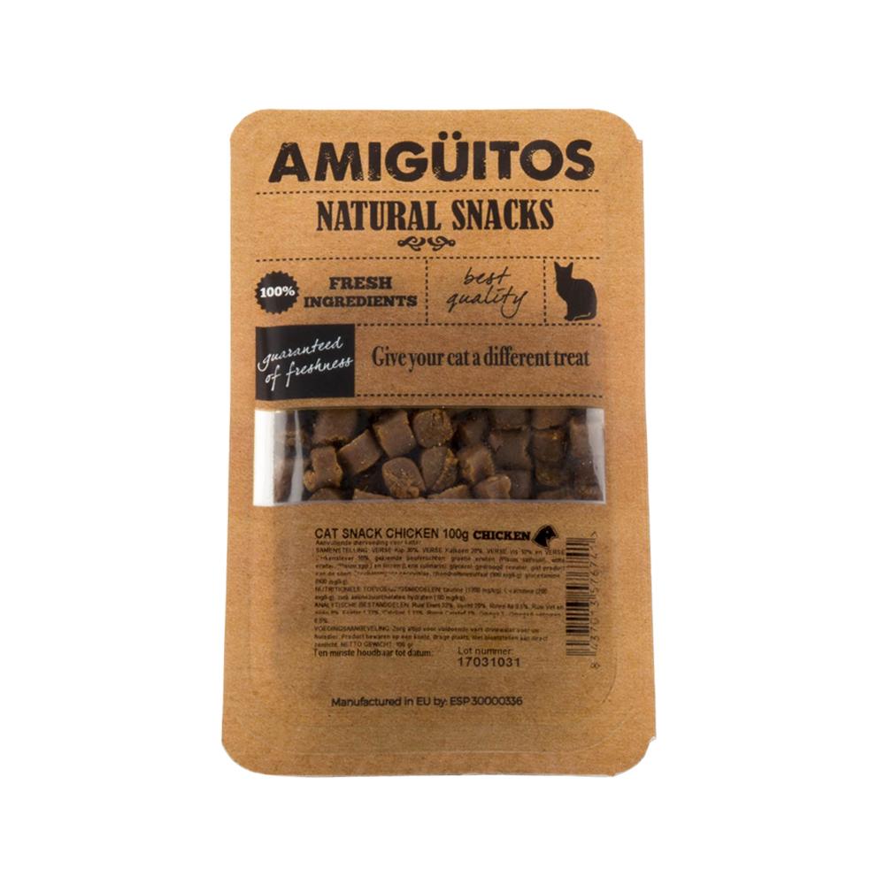 Amigüitos Catsnacks - Hähnchen - 100 g
