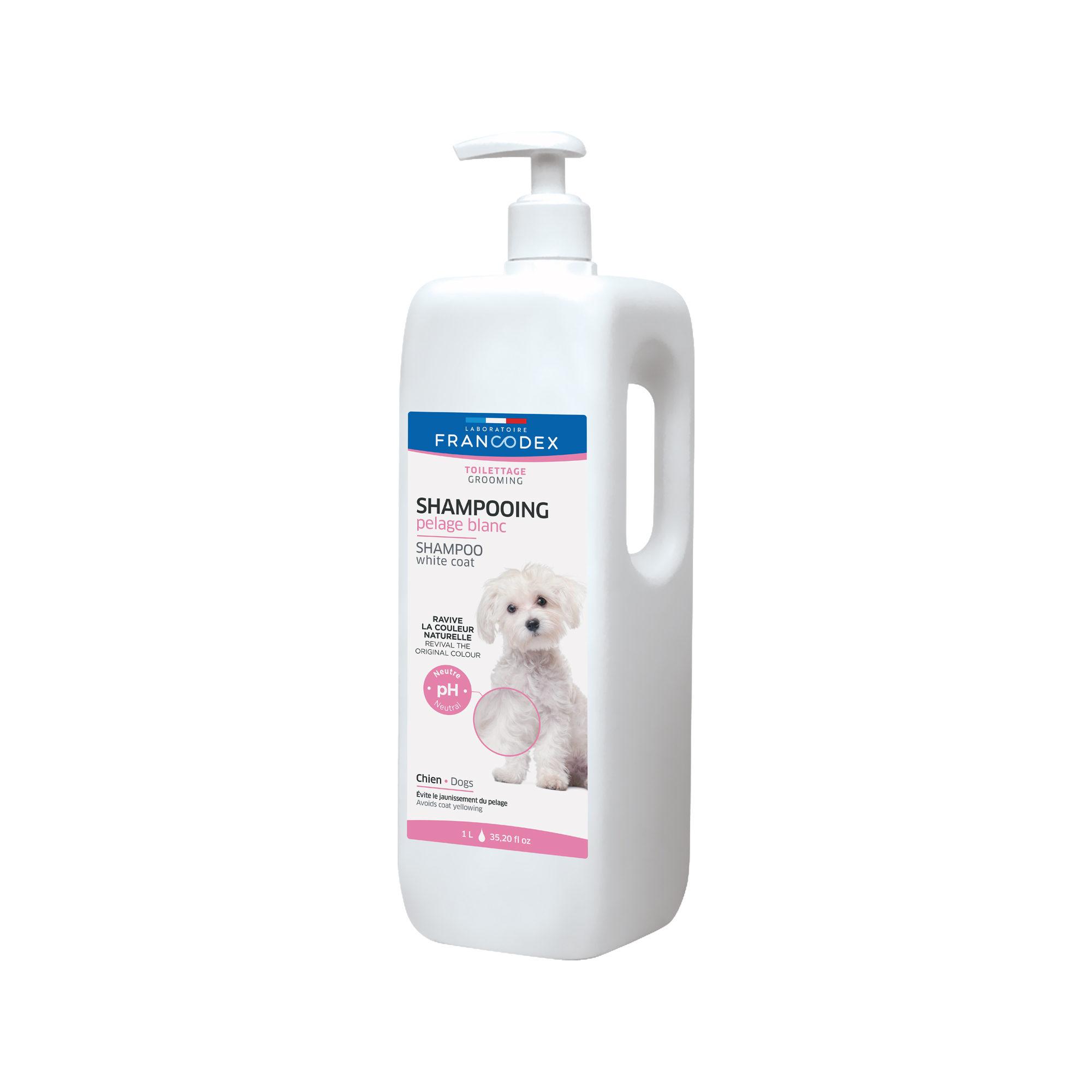 Francodex weißes Fell Shampoo