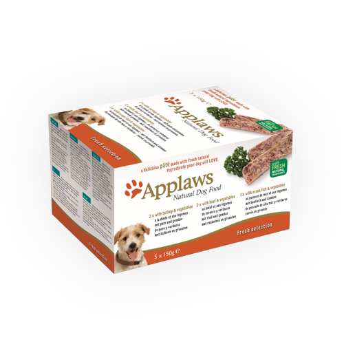 Applaws Fresh Selection - Barquette- Multipack - 5 x 150 g