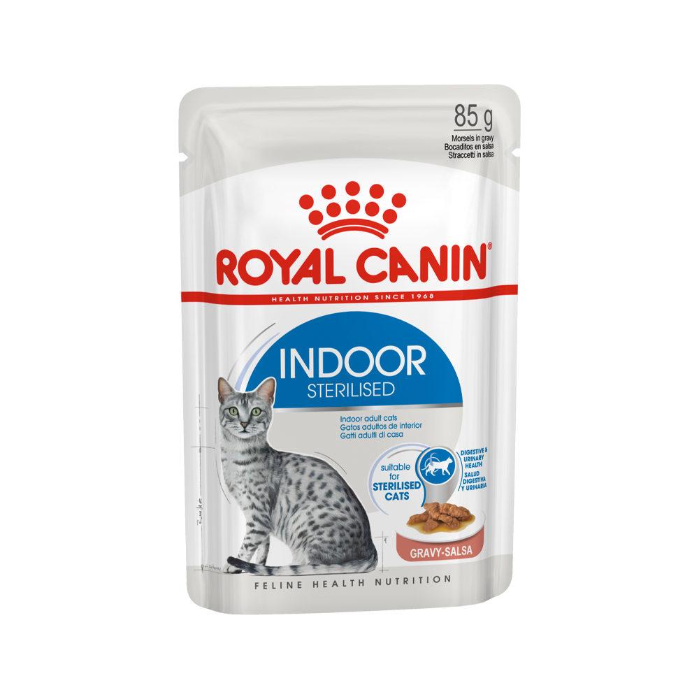 Royal Canin Sterilised Indoor in Gravy - Sachet