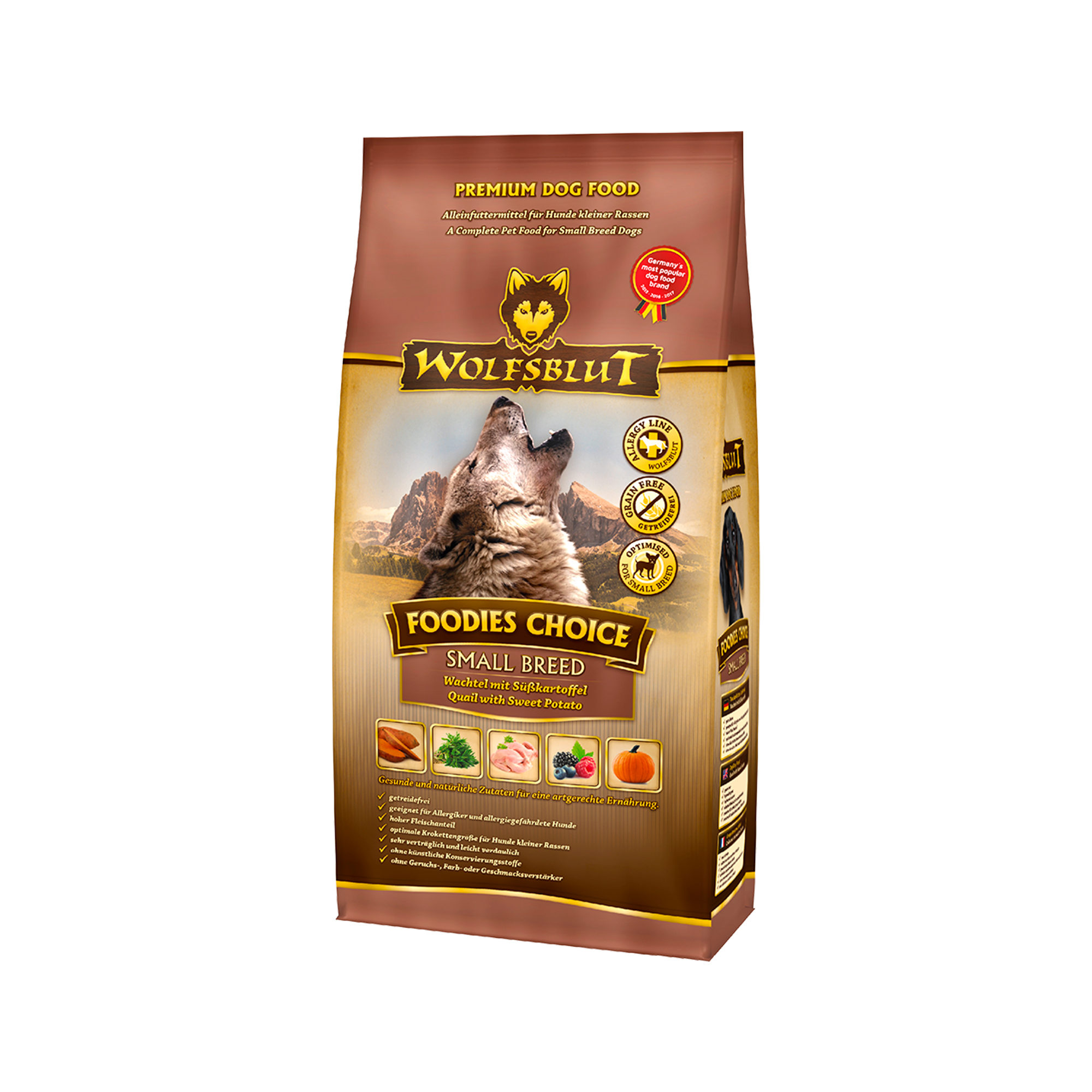 Wolfsblut Foodies Choice Small Breed Hundefutter