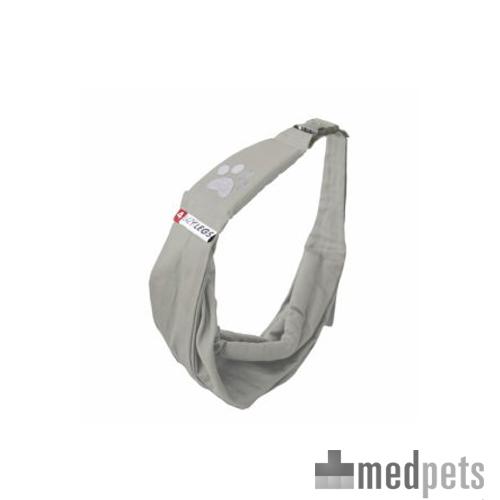 4lazylegs Pocket - Tissu - Sac de transport pour chien  - Gris