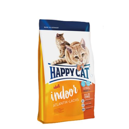 Happy Cat Adult Indoor - Saumon de l'Atlantique