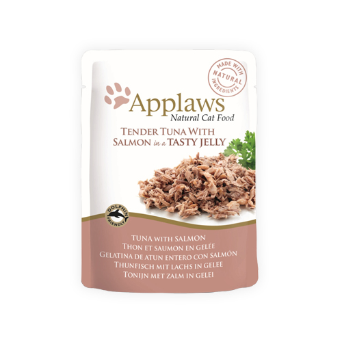 Applaws in Jelly Katzenfutter - Frischebeutel - Tuna & Salmon