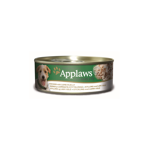 Applaws Hundefutter - Dosen - Chicken & Lamb in Jelly