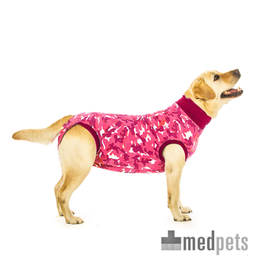 Suitical Recovery Suit - Chien - Rose camouflage