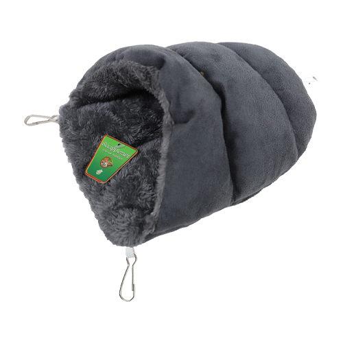 Boon - Sac de couchage pour rongeur en peluche - Gris