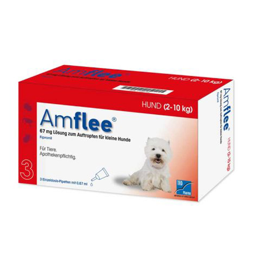 Amflee Spot-on Chien - 67 mg - 3 pipettes