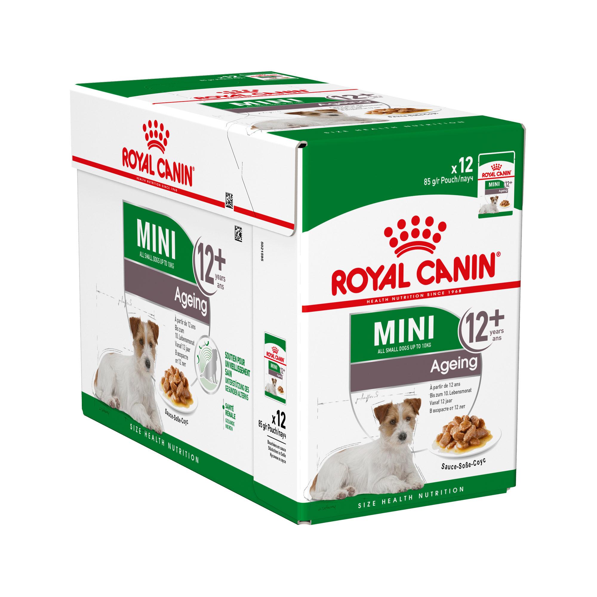 Royal Canin Mini Ageing 12+ Hundefutter - Frischebeutel