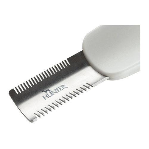 Couteau de toilettage incurvé - Hunter Double