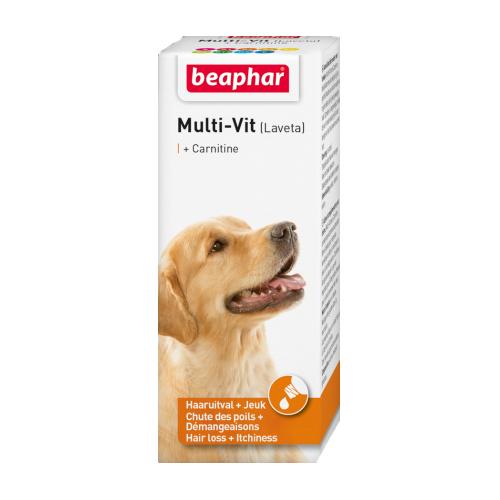 Beaphar Multi-vit (Laveta) mit Carnitin - 50 ml