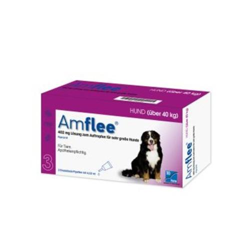Amflee Spot-on Hund - 402 mg - 3 Pipetten