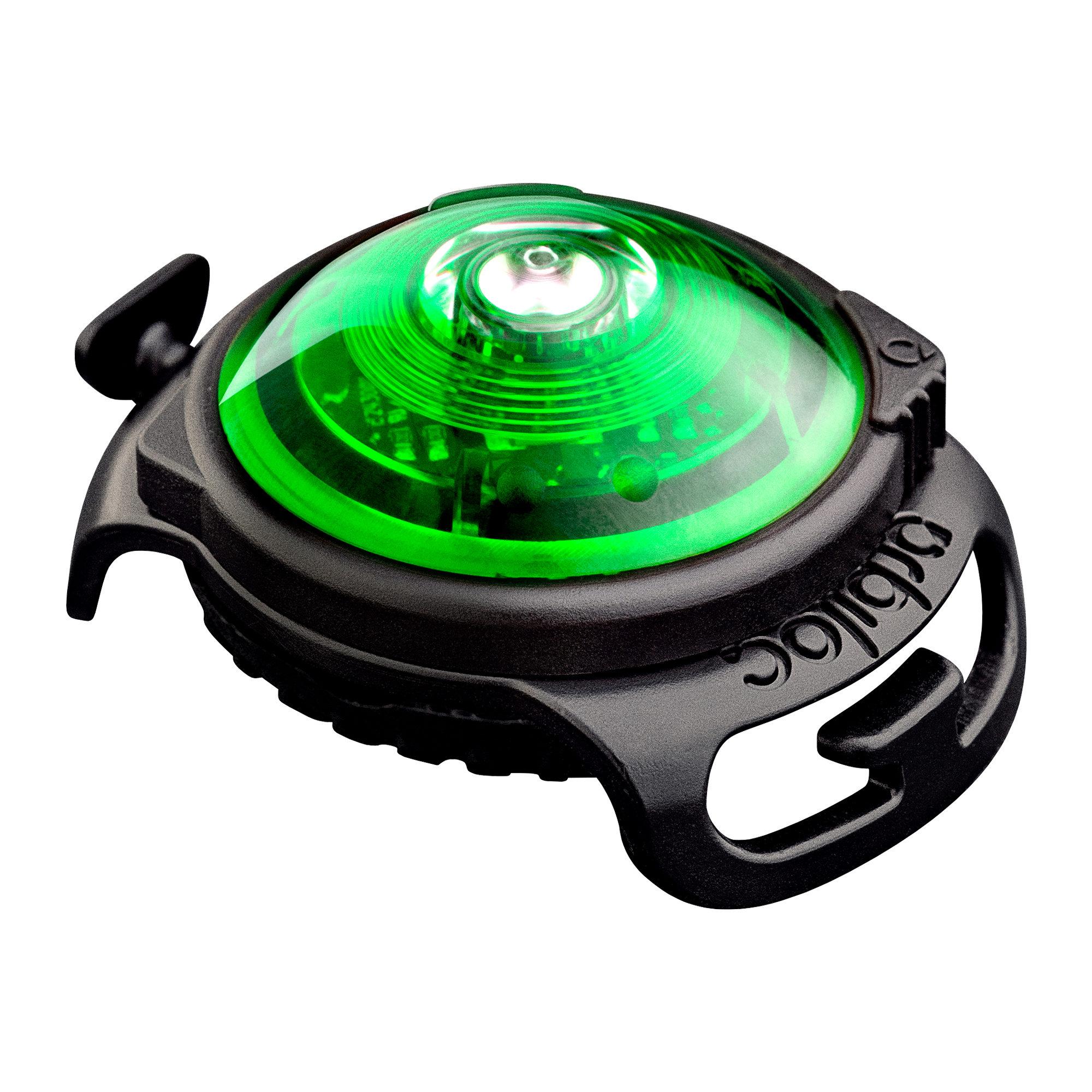 Orbiloc Dog Dual Safety Light - Vert