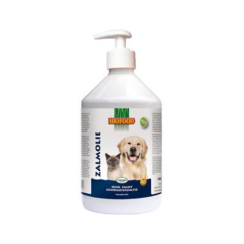 Biofood Lachsöl mit Dosierpumpe - 250 ml