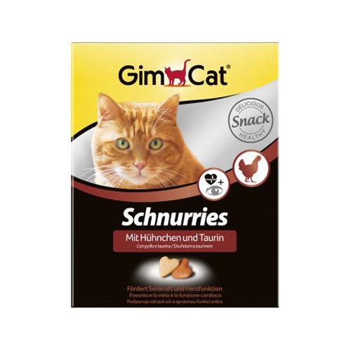 GimCat Schnurries - Huhn & Taurin