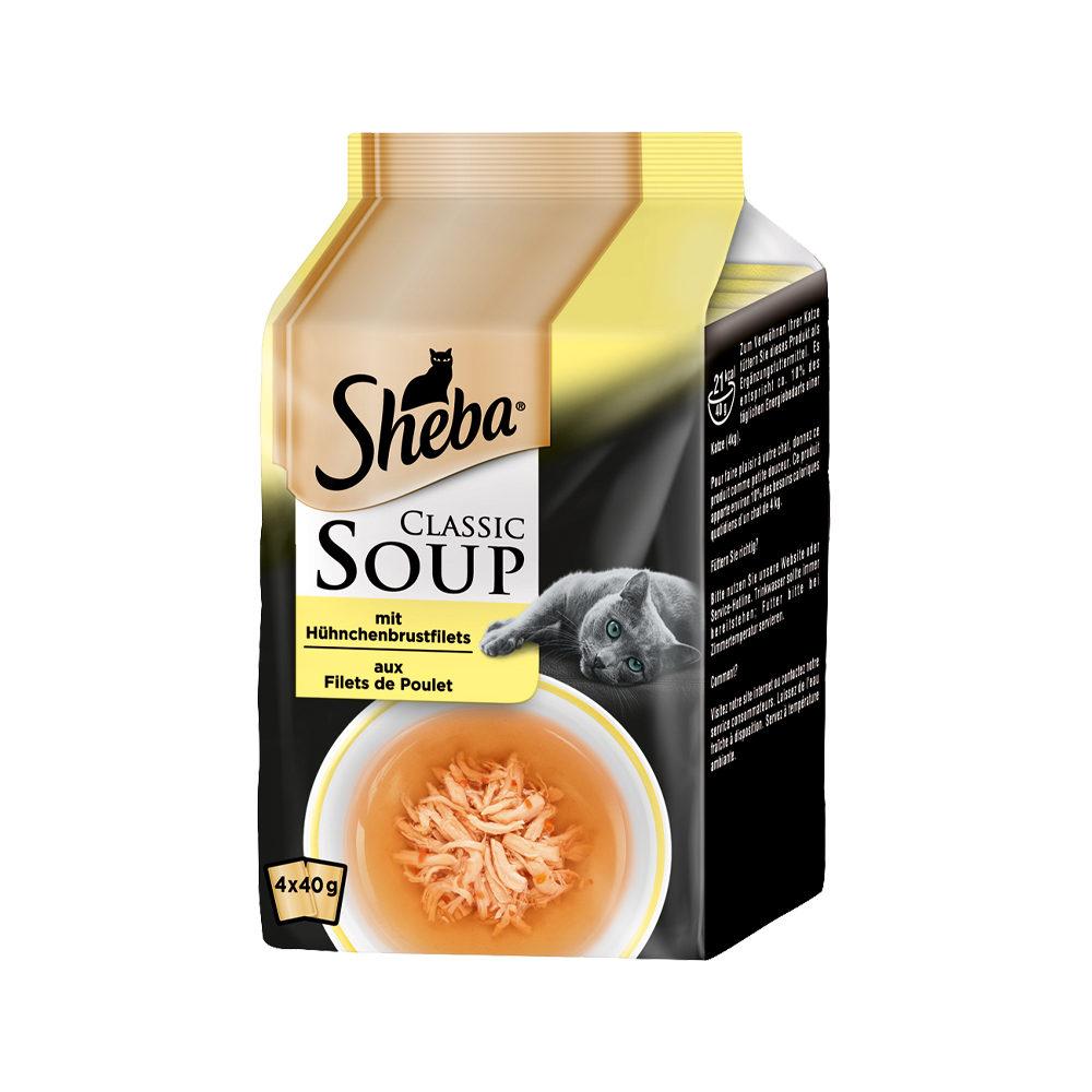 Sheba Classic Soup Multipack Katzenfutter - Hünchenbrustfilet