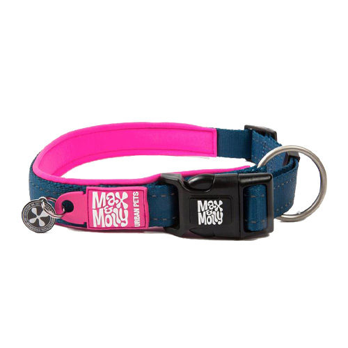 Max & Molly Smart ID Collier pour chien - Rose