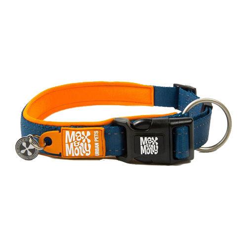 Max & Molly Smart ID Collier pour chien - Orange