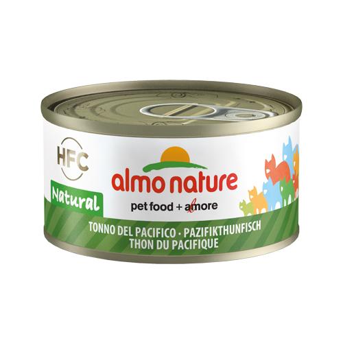 Almo Nature HFC 70 Natural - Thon du Pacifique - Boîte - 24 x 70 g