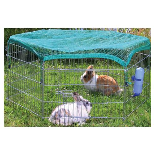 Trixie - Enclos d'extérieur avec filet de protection