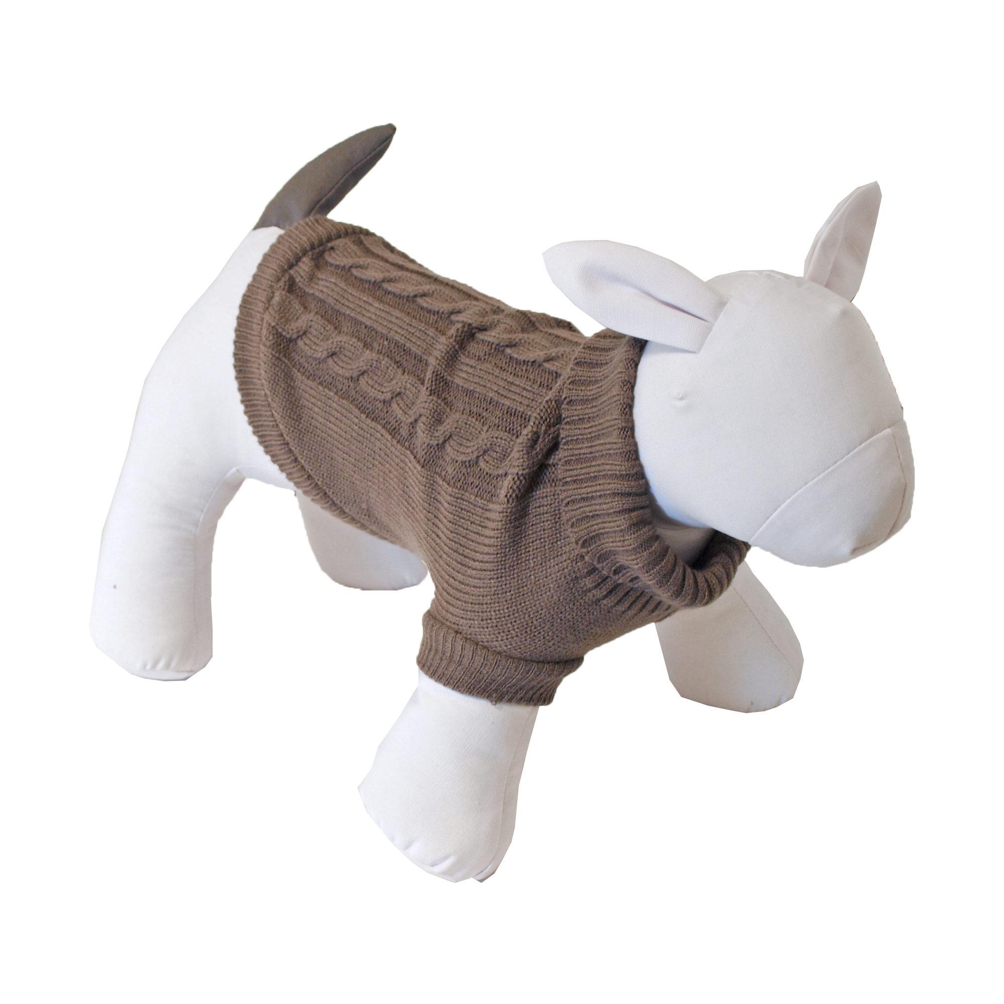 Boony - Pull pour chien - Marron - 45 cm