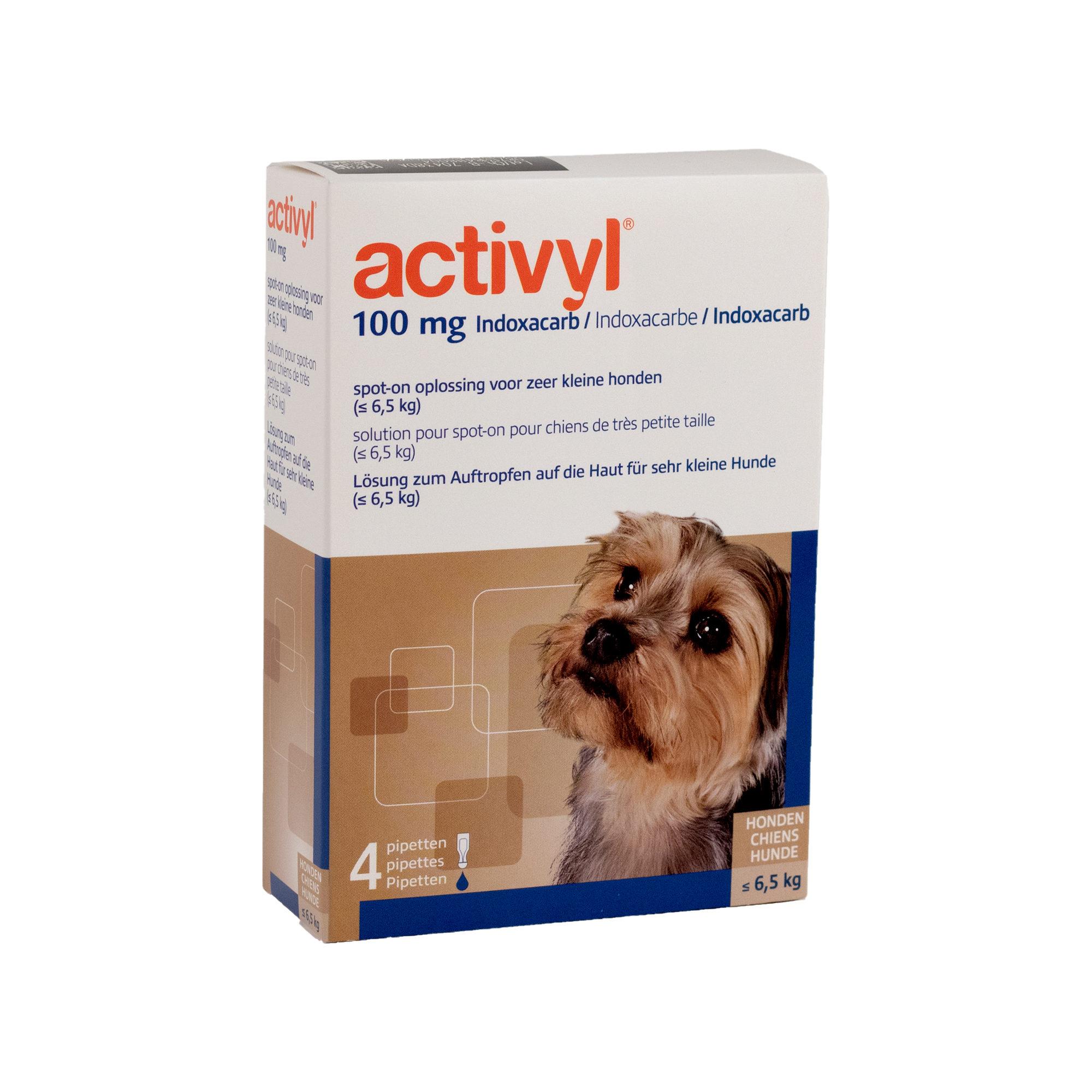 Activyl Spot-on Hund XS - bis zu 6,5 kg