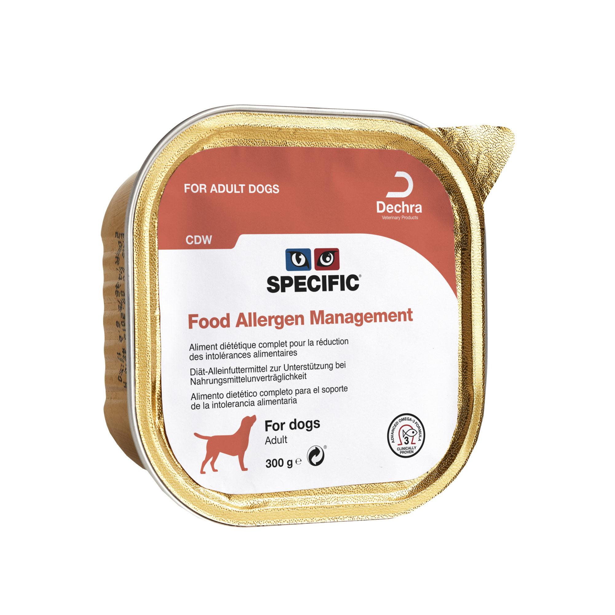 SPECIFIC Food Allergen Management CDW - Barquette